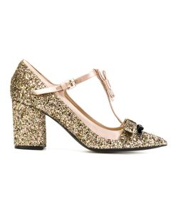 No21 | Glitter Bow Detail Pumps