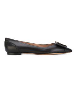 Salvatore Ferragamo   Bow Ballerina Shoes