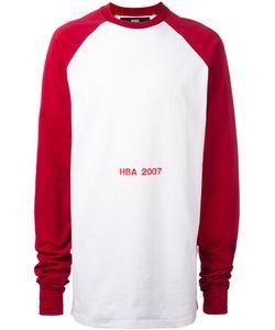 Hood By Air | Logo Print Sweatshirt Xs Cotton