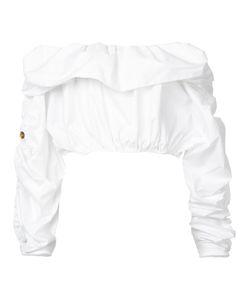 Ellery | Gathered Off-Shoulder Blouse 12
