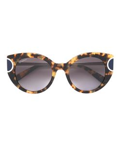 Salvatore Ferragamo | Tortoiseshell Cat Eye Sunglasses