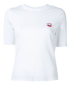 Muveil | Chest Embroidery Knit T-Shirt Size 38