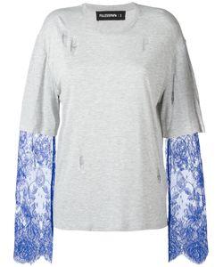 Filles A Papa | Ashley Lace Sleeve Layered T-Shirt