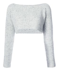 Baja East | Cropped Ribbed Jumper Women
