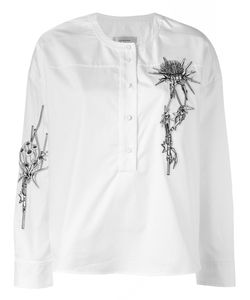 Carven | Embroidered Shirt Women 44