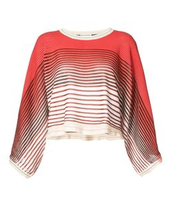 Sonia Rykiel | Striped Cropped Sweater