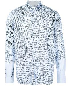Oamc | Word Print Shirt
