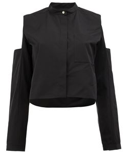 Maison Rabih Kayrouz | Cut-Out Shoulder Shirt 38 Cotton