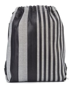 Proenza Schouler | Striped Drawstring Backpack