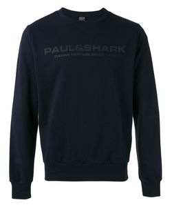 Paul & Shark | Logo Print Sweatshirt Size Medium