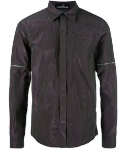 Stone Island Shadow Project | Iridescent Shirt Small Cotton/Polyester