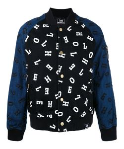House Of Holland | Embroidered Letter Bomber Jacket
