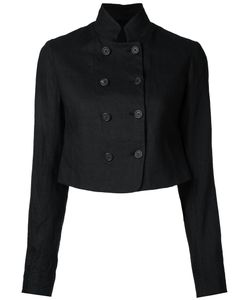 Forme D'expression | Double Breasted Cropped Jacket Size 42