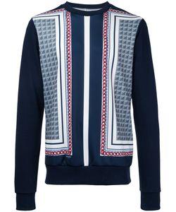 Yoshio Kubo | Printed Panel Sweatshirt