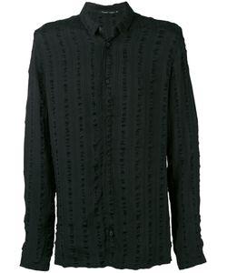 Transit | Striped Detail Long Sleeve Shirt Men
