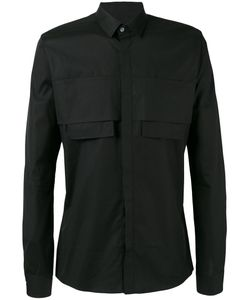 Les Hommes | Chest Pocket Fitted Shirt