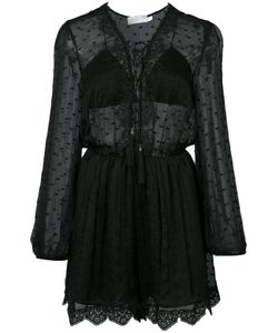 Zimmermann   Embroidered Sheer Playsuit 1