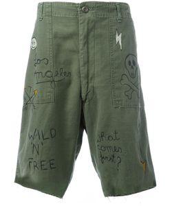 Htc Hollywood Trading Company   Graffiti Cargo Shorts Xl