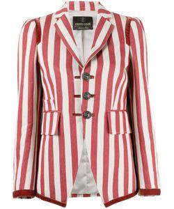 Roberto Cavalli | Striped Fitted Blazer Size 42