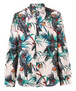 PS Paul Smith | Ps By Paul Smith Tropical Print Shirt Size Medium