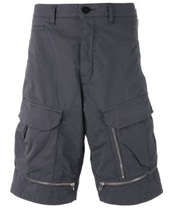 Stone Island Shadow Project | Zipped Details Cargo Shorts