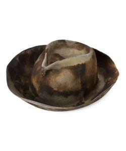 Horisaki Design & Handel | Burned Effect Fedora Hat Women