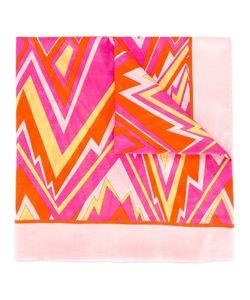 M Missoni | Zigzag Pattern Scarf