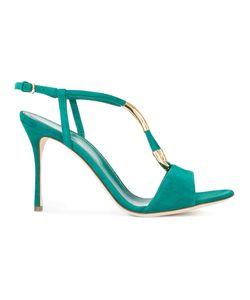 Sergio Rossi   Tone Detail Sandals Size 37.5