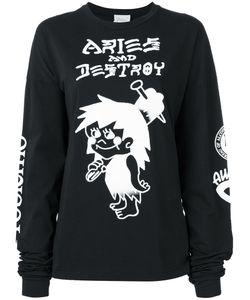 Aries | Snar Longsleeved T-Shirt Size 3