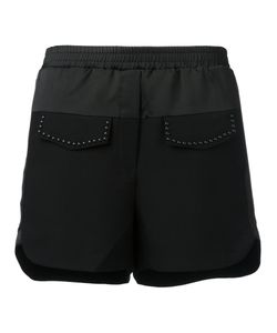 8pm | Stud Detail Shorts Small Polyester