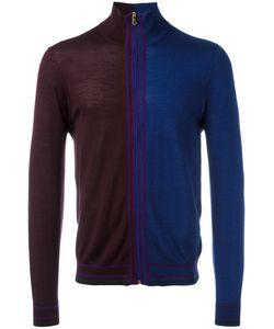 Paul Smith | Bicolour Cardigan Medium Silk/Merino