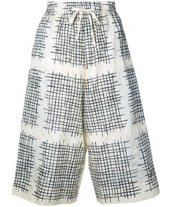 Toogood | Checked Cropped Trousers 0