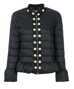 Twin-Set | Pearl Studded Cropped Jacket