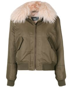 Army Yves Salomon | Military Style Jacket Women Rabbit