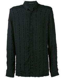 Transit | Striped Detail Long Sleeve Shirt