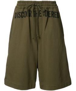 Juun.J | Embroide Track Shorts 46 Cotton