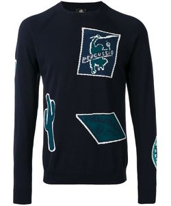 PS Paul Smith   Ps By Paul Smith Patterned Crew Neck Jumper
