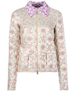 Rochas | Jacquard Jacket Size 46