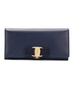 Salvatore Ferragamo   Vara Bow Wallet Cotton/Leather/Metal Other