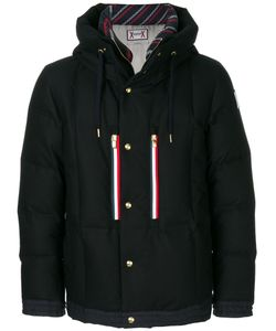 Moncler Gamme Bleu | Hooded Jacket Cotton/Feather Down/Polyester/Virgin