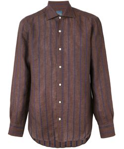 Barba | Embroidered Stripe Shirt 43
