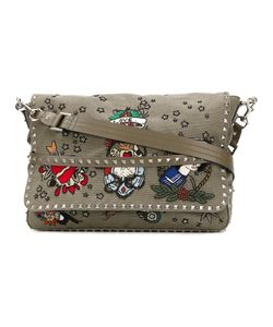 Valentino | Garavani Tattoo Embroidered Messenger Bag