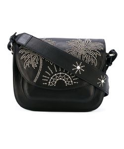 Htc Hollywood Trading Company | Sunshine Palm Tree Studded Shoulder Bag