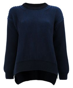 Paco Rabanne | Ribbed Loose Fit Jumper Size