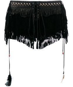 Roberto Cavalli | Fringed Shorts Size 38