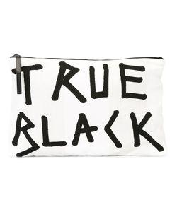 Ann Demeulemeester Blanche   True Flat Clutch Bag