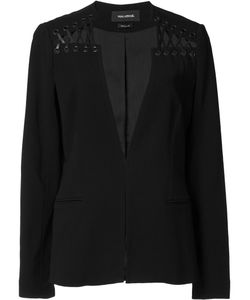 Yigal Azrouel | Lace Up Detail Blazer 4