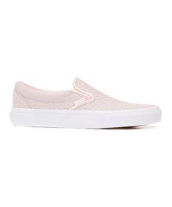 Vans   Embossed Woven Classic Slip-On Sneakers