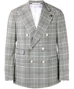 Gabriele Pasini   Checked Double Breasted Jacket 50