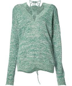 Rosie Assoulin | Drawstring Detail Jumper Medium Cotton